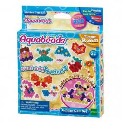 AQUABEADS 31048 - Coffret Perles Dorees