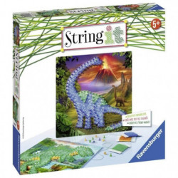 STRING IT midi Dinosaures  Suivez La tendance du String Art