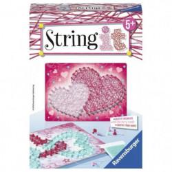 STRING IT mini Heart Suivez La tendance du String Art ! Rave