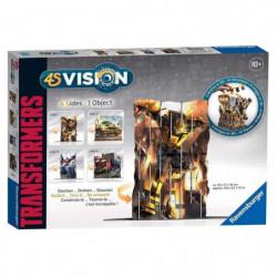 TRANSFORMERS 4S VISION Transformers - Réalisez 4 images en 1