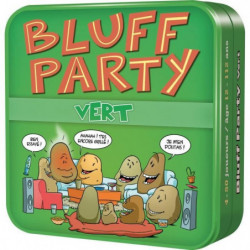 ASMODEE - Bluff Party Vert  - Jeu de société