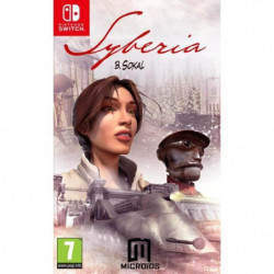 Syberia 1 Jeu Switch