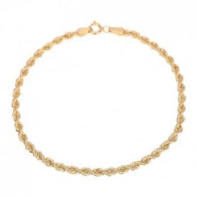 Les Bijoux d'Emma - Bracelet en Maille Corde - OR