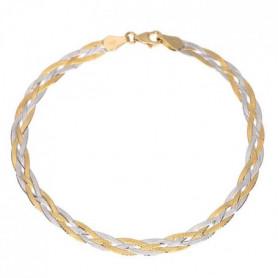 Les Bijoux d'Emma - Bracelet Tresse  - OR 9CT