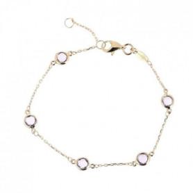 """LE DIAMANTAIRE - Bracelet """"Colors"""" Or Jaune"""