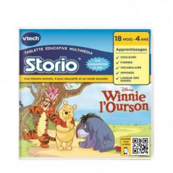 VTECH - Jeu Éducatif Storio 2 - Winnie l'Ourson