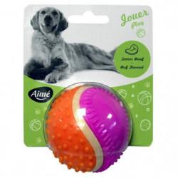 AIME Jouet balle 5 sens 6cm - Pour chien