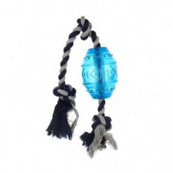 BUBIMEX Jouet sifflant avec corde - Pour chien