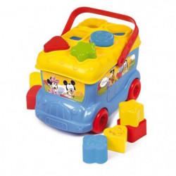CLEMENTONI Disney Baby  - Le bus des formes de Mickey - Jeu