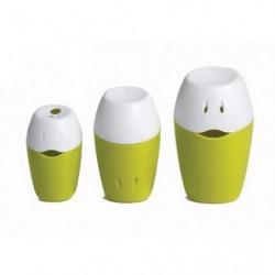 HOPPOP Lot de 3 jouets de bain Triplo - Lime