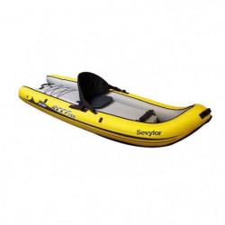 SEVYLOR Kayak Gonflable Sit on Top Reef 240 - 1 place - Jaun