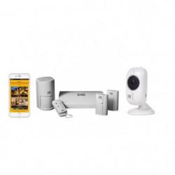 KODAK Pack alarme SA101 + Caméra Full HD IF101W