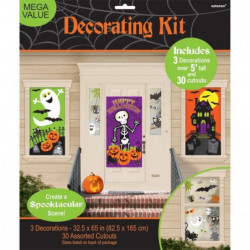 AMSCAN Kit 34 Décorations Family Friendly Halloween - 1,65m
