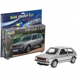 REVELL Maquette Model set Voitures VW Golf 1 GTI 67072