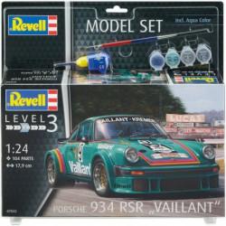 REVELL Maquette Model set Voitures Porsche 934 RSR Vailla 67