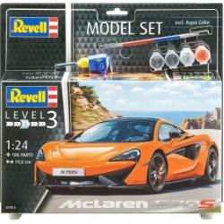 REVELL Maquette Model set Voitures MCLAREN 570S -67051