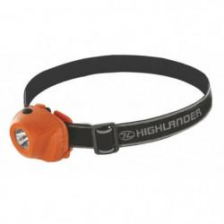 Highlander Beam 1W LED Phare Orange Noir