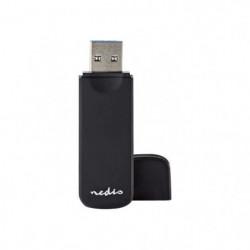 Nedis CRDRU3100BK Lecteur de carte 7 en 1 (MMC, SD, microSD,