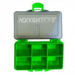 VOLKIEN Boite leurre Petits Accessoires -Vert - 4 cases