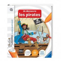 TIPTOI Livre Interactif Je Découvre le Vie de Pirate