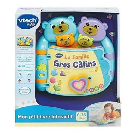 Vtech Baby Mon P Tit Livre Interactif La Famille Gros Cal