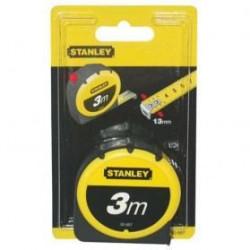 STANLEY Metre ruban 3m x 12,7mm en Tylon