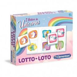 CLEMENTONI Jeu de Loto - Licornes - Jeu éducatif