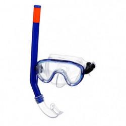 SEAC Masque et Tuba de plongée Marina Siltra - Enfant - Bleu