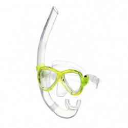 SEAC Masque et Tuba de plongée Ischia - Adulte - Jaune