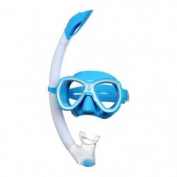 SEAC Masque et Tuba de plongée Elba - Médium - Bleu