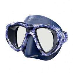 SEAC Masque de plongée One Kama - Silicone - Bleu - Haute dé