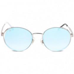 PRIVE REVAUX - Lunettes Round - Modele The Riviera Bleu Mixt