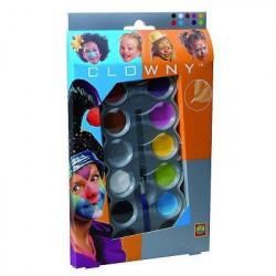 SES CREATIVE AQUA Palette de maquillage  10 couleurs Tendanc