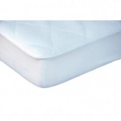 DOUXNID NOVA Surmatelas Alese - Pour Lit 60x120 cm - Blanc -