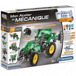 CLEMENTONI Mon Atelier de Mécanique - Machines agricoles