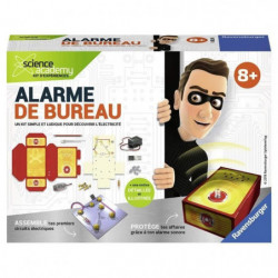 SCIENCE X RAVENSBURGER Mini Alarme de Bureau Jeu Educatif