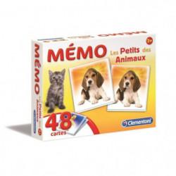CLEMENTONI Mémo - Les petits des Animaux - Jeu de mémorisati