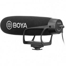 BOYA BM2021 Microphone canon à condensateur - Câble de sorti
