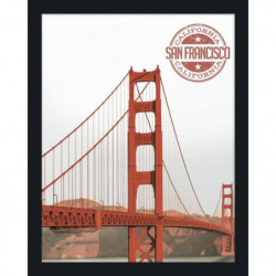 Golden Gate Bridge Miroir 40x50 cm