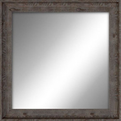 EMOTION Miroir Valloire marron 38x38 cm