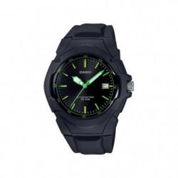 CASIO Montre Collection noire LX-610-1AVEF - Bracelet résine
