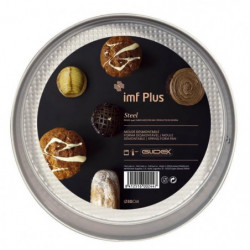 IMF Moule a gâteau fond amovible Steel - Ø 30 cm - Gris