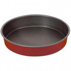 IMF Moule a gâteau rond Rioja - Ø 26 cm - Rouge et gris