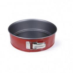 IMF Moule a gâteau fond amovible Rioja - Ø 26 cm - Rouge et