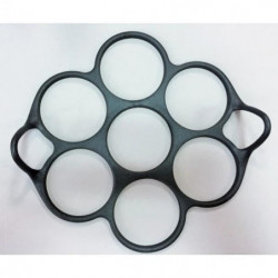 PATISSE Starflex Moule 7 mini blinis - 23x7x5 cm