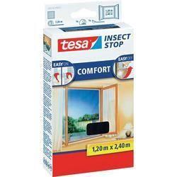 TESA Moustiquaire Comfort pour portes-fenetres - 1,20m x 2,4