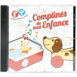 ASMOKIDS- FISHER PRICE- CD DE COMPTINES