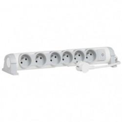 LEGRAND Rallonge multiprise Confort bloc de prises rotatif 6