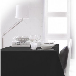 TODAY Nappe rectangulaire 150x250 cm - Noir réglisse