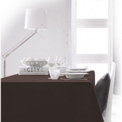 TODAY - Nappe rectangulaire - 150x250 cm - Marron cacao